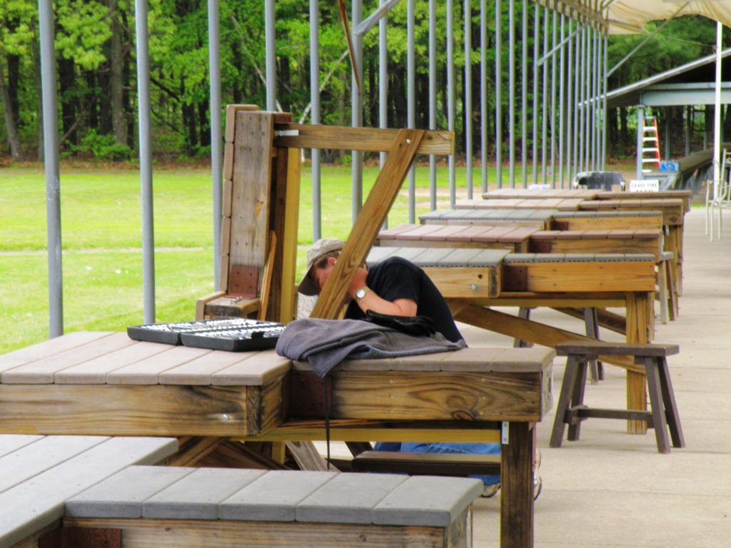 Bench rest repair